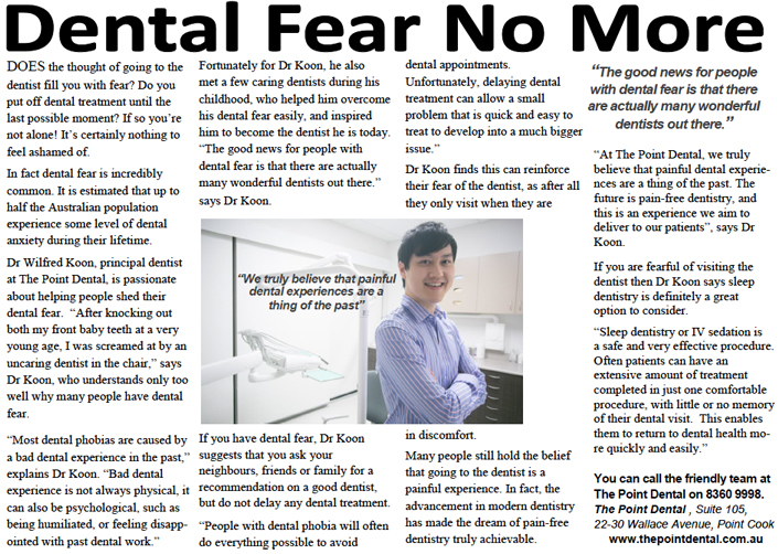 Dental Fear No More