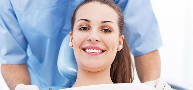Smiling Woman Dental Patient