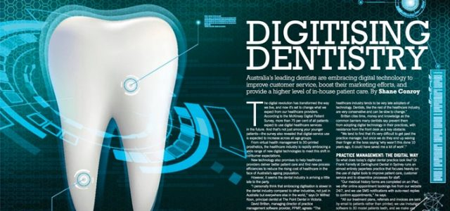 Digitising Dentistry