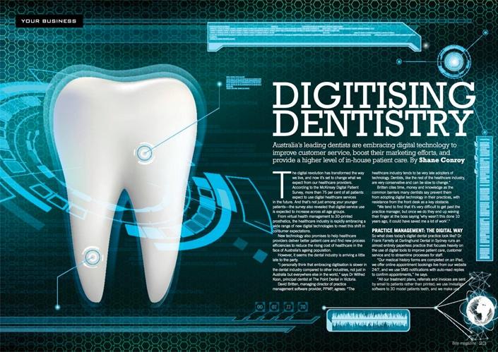 Digitising Dentistry