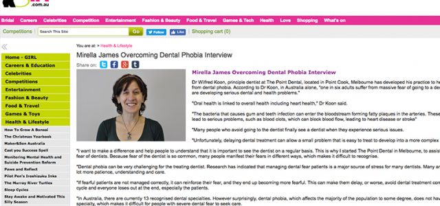 Overcoming Dental Phobia Interview